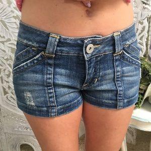 Classic Bebe Denim shorts